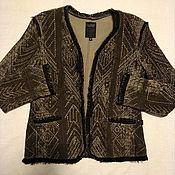 Винтажная одежда ручной работы. Ярмарка Мастеров - ручная работа Жакет, пиджак бохо-шик (Нидерланды) 10 FEET. Handmade.