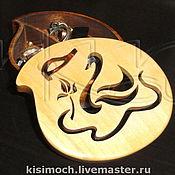 """Для дома и интерьера ручной работы. Ярмарка Мастеров - ручная работа Шкатулка """"Лебедь"""". Handmade."""