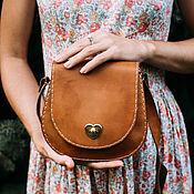 Сумки и аксессуары handmade. Livemaster - original item Crossbody bag: Handbag leather