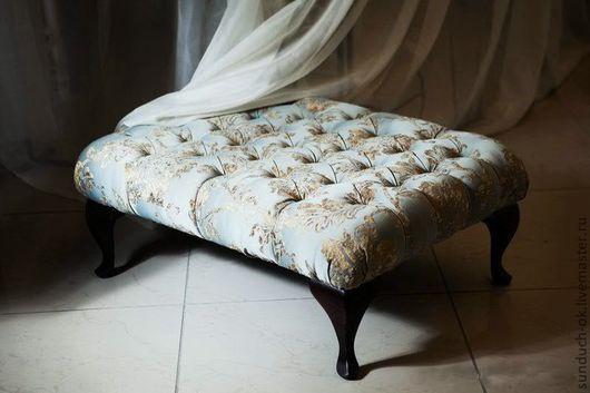 Мебель ручной работы. Ярмарка Мастеров - ручная работа. Купить Пуф-банкетка. Handmade. Пуфик, Мебель, текстиль