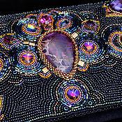 """Сумки и аксессуары ручной работы. Ярмарка Мастеров - ручная работа Клатч """"Магия вселенной"""". Handmade."""