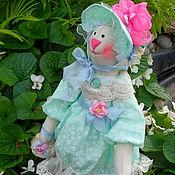 Куклы и игрушки ручной работы. Ярмарка Мастеров - ручная работа Заяц Тильда текстильный - Софюшка продана. Handmade.