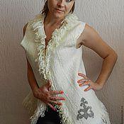 """Одежда ручной работы. Ярмарка Мастеров - ручная работа Жилет """" Казахские мотивы 2 """". Handmade."""