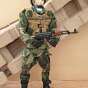 Dolls handmade. Livemaster - original item Author`s doll Defender of the Fatherland. Handmade.