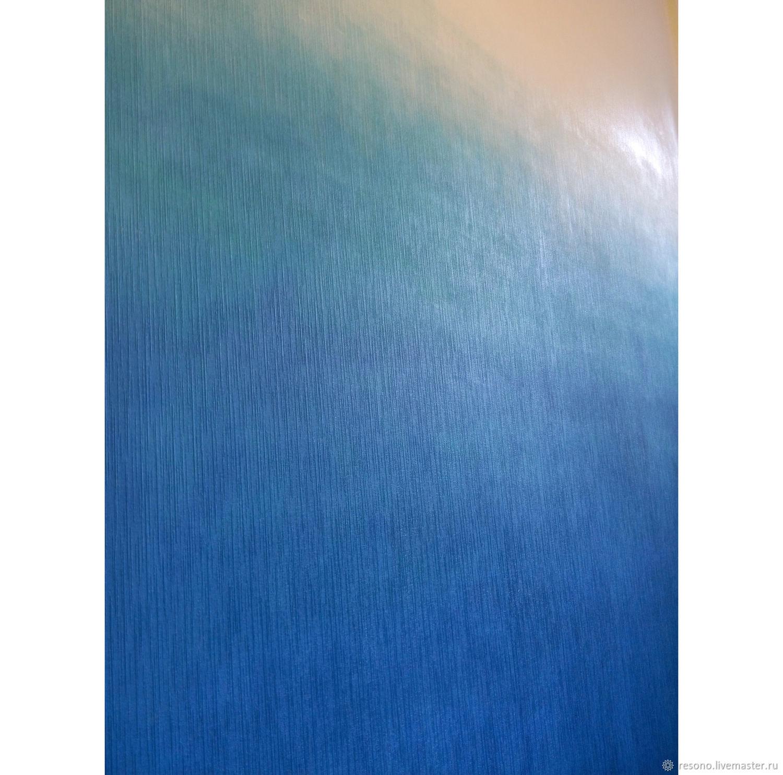 Роспись стены в интерьере Градиент морской, Картины, Санкт-Петербург,  Фото №1