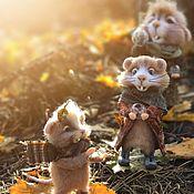 Мягкие игрушки ручной работы. Ярмарка Мастеров - ручная работа Осеннее надувательство. Handmade.
