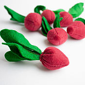 Кукольная еда ручной работы. Ярмарка Мастеров - ручная работа Свекла из фетра овощи из фетра. Handmade.