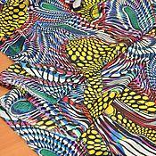 """Ткани ручной работы. Ярмарка Мастеров - ручная работа Крепдешин шелковый """"Valentino"""". Handmade."""