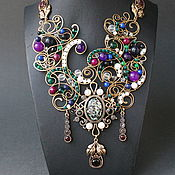 Украшения handmade. Livemaster - original item Necklace Empire-the-Sea. Handmade.