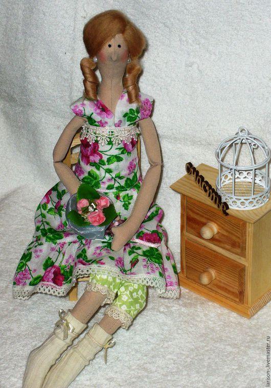 Куклы Тильды ручной работы. Ярмарка Мастеров - ручная работа. Купить Нежная тильдочка. Handmade. Кукла ручной работы