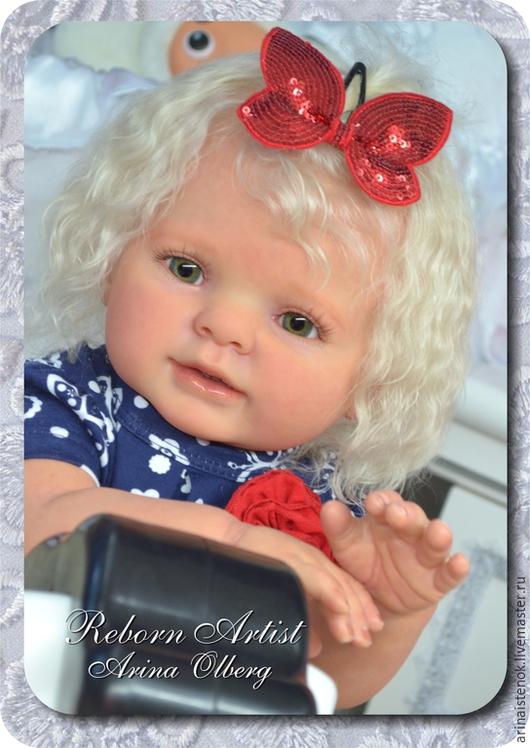 Куклы-младенцы и reborn ручной работы. Ярмарка Мастеров - ручная работа. Купить АНГЕЛИНА (молд  KITTEN KIT BY DONNA RUBERT). Handmade.
