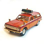 Винтаж handmade. Livemaster - original item Collection car GAZ 2402 Aeroflot. Handmade.