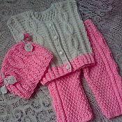 Работы для детей, handmade. Livemaster - original item knit kit Alenka handmade. Handmade.