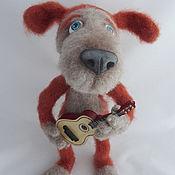 Куклы и игрушки handmade. Livemaster - original item Knitted dog Philip. Handmade.