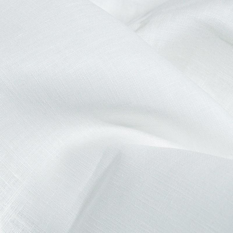 Ткань льняная для постельного белья белоснежная, Ткани, Минск,  Фото №1