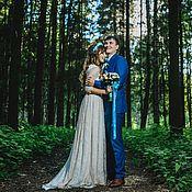 """Свадебный салон ручной работы. Ярмарка Мастеров - ручная работа Свадебное платье в стиле """"Рустик"""" для Натальи. Handmade."""