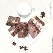 """Косметика ручной работы. Ярмарка Мастеров - ручная работа Натуральное мыло """"Какао-шоколад"""" для тела. Handmade."""