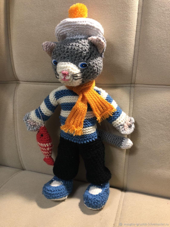Кукольный театр: Кот Рыбак, Мягкие игрушки, Краснознаменск,  Фото №1