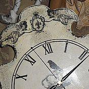 """Для дома и интерьера ручной работы. Ярмарка Мастеров - ручная работа """"Почти Алиса"""" часы.. Handmade."""