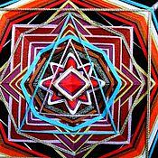 """Фен-шуй и эзотерика ручной работы. Ярмарка Мастеров - ручная работа Мандала """"Око божественнной мудрости"""". Помогает принимать решения. Handmade."""
