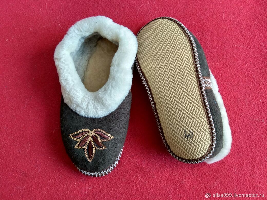 Sheepskin dudes on size 39, Slippers, Moscow,  Фото №1