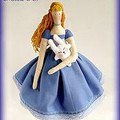"""Куклы и игрушки ручной работы. Ярмарка Мастеров - ручная работа Кукла Тильда """"Алиса"""". Handmade."""