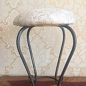 Для дома и интерьера handmade. Livemaster - original item Stool forged