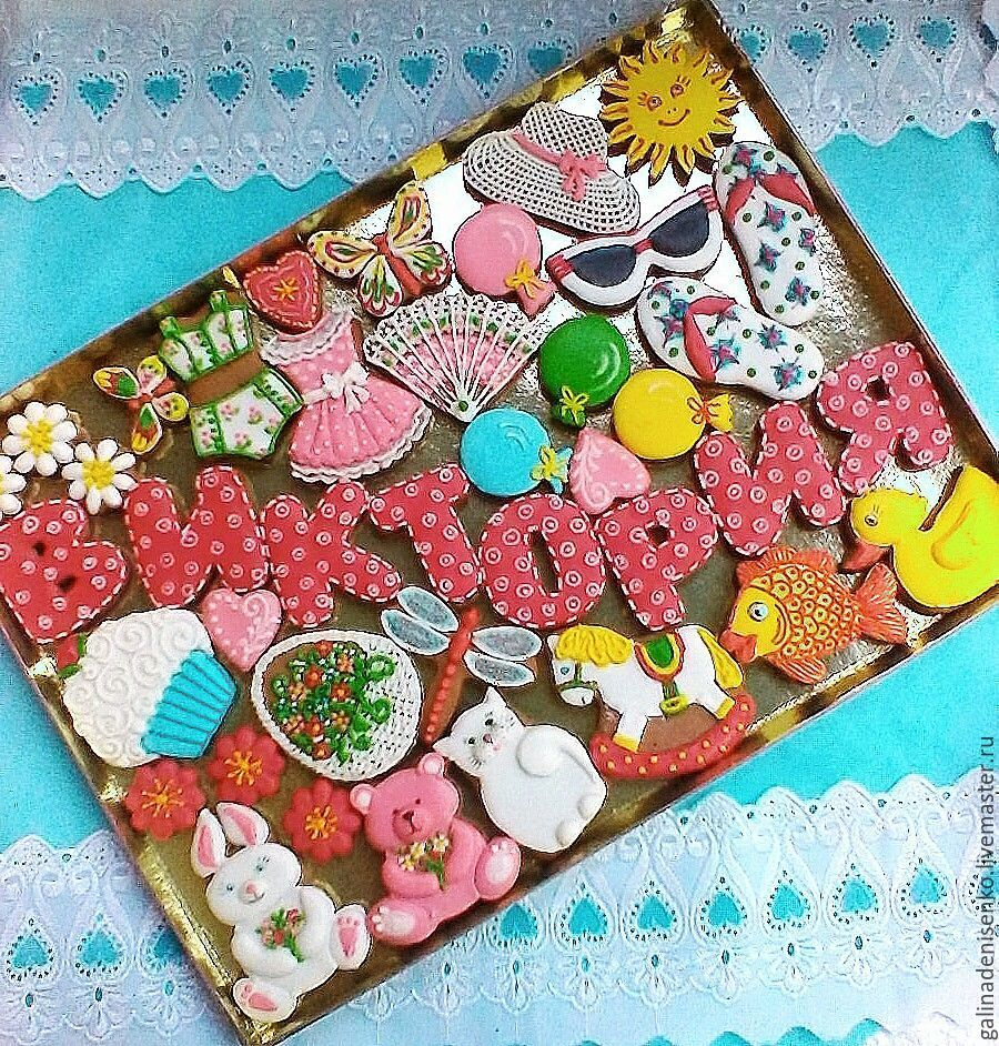 Gingerbread Birthday. Set of cakes for the children, Gingerbread Cookies Set, Rostov-on-Don,  Фото №1