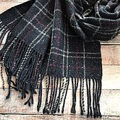 Аксессуары handmade. Livemaster - original item Men`s plaid tweed scarf. Handmade.