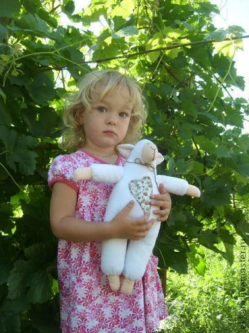 Куклы Тильды ручной работы. Ярмарка Мастеров - ручная работа. Купить Овечка Тильда. Handmade. Тильда овечка, интерьерная игрушка