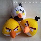 Куклы и игрушки ручной работы. Ярмарка Мастеров - ручная работа Сердитые птички Angry Birds 2. Handmade.