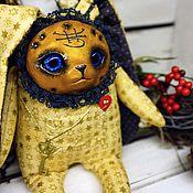 Куклы и игрушки ручной работы. Ярмарка Мастеров - ручная работа золотой заяц.. Handmade.