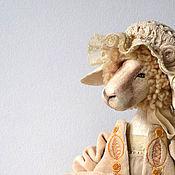 Куклы и игрушки ручной работы. Ярмарка Мастеров - ручная работа считать овечек: раз, два, три.... Handmade.