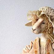 Куклы и игрушки ручной работы. Ярмарка Мастеров - ручная работа считать овечек: раз.... Handmade.