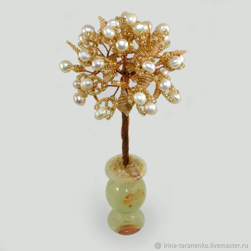 Дерево из жемчуга `Жемчужное торжество`