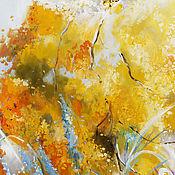 Картины и панно ручной работы. Ярмарка Мастеров - ручная работа Весна в цвете Mimosa. Handmade.