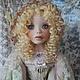 """Коллекционные куклы ручной работы. Ярмарка Мастеров - ручная работа. Купить Кукла """"Агнесса"""". Handmade. Салатовый, полимерная глина"""