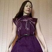Одежда handmade. Livemaster - original item Dress felted wool