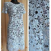 """Одежда ручной работы. Ярмарка Мастеров - ручная работа платье - кружевное """"Лагуна"""". Handmade."""