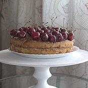Для дома и интерьера handmade. Livemaster - original item Stand cake cedar Holiday. Handmade.