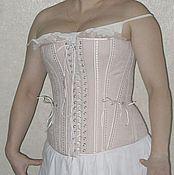 Одежда ручной работы. Ярмарка Мастеров - ручная работа жесткий бельевой корсет. Handmade.