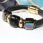 Украшения handmade. Livemaster - original item Bracelet Regaliz Glitter Nights. Handmade.