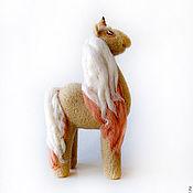 Куклы и игрушки ручной работы. Ярмарка Мастеров - ручная работа Войлочная фигурка — Единорог. Handmade.