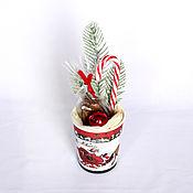 Год Крысы ручной работы. Ярмарка Мастеров - ручная работа Шоколадный Мини подарок на новый год арт. 1-002. Handmade.