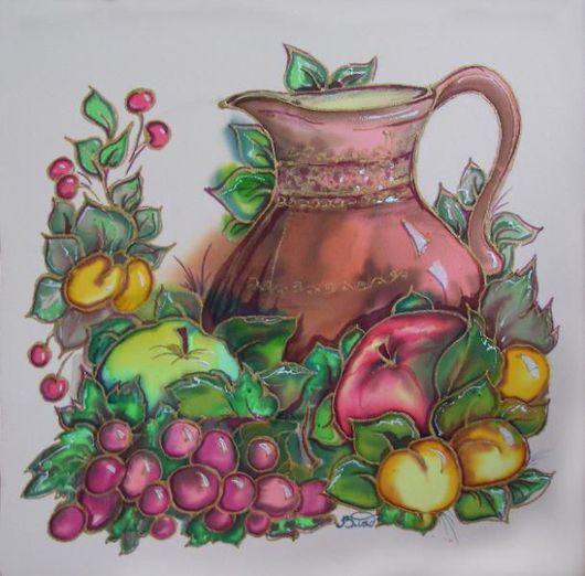 кувшин, фрукты