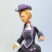 Куклы и игрушки ручной работы. Ярмарка Мастеров - ручная работа кукла Амалия. Handmade.