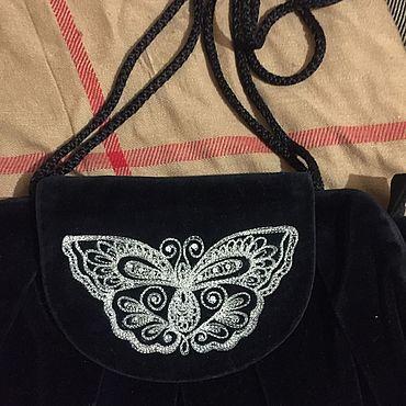 Винтаж ручной работы. Ярмарка Мастеров - ручная работа Винтажная сумочка. Handmade.