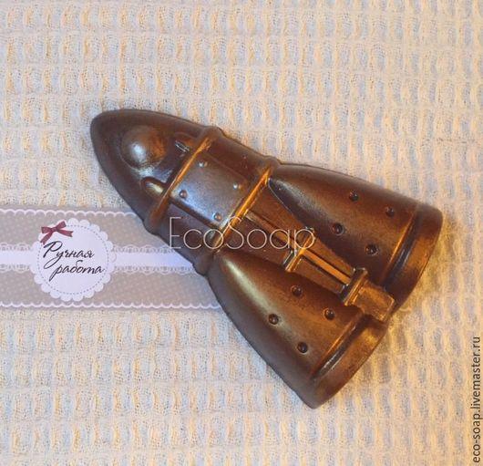 Мыло ручной работы `Ракета`. Handmade.