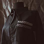Одежда handmade. Livemaster - original item Shirt womens. 100% cotton.. Handmade.