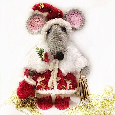 Куклы и игрушки ручной работы. Ярмарка Мастеров - ручная работа Куклы: Крысюля Снежка. Handmade.